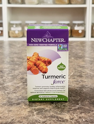 New Chapter- Turmeric Force 60