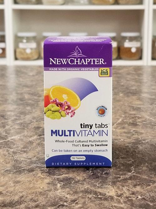 New Chapter- Tiny Tabs Multivitamin