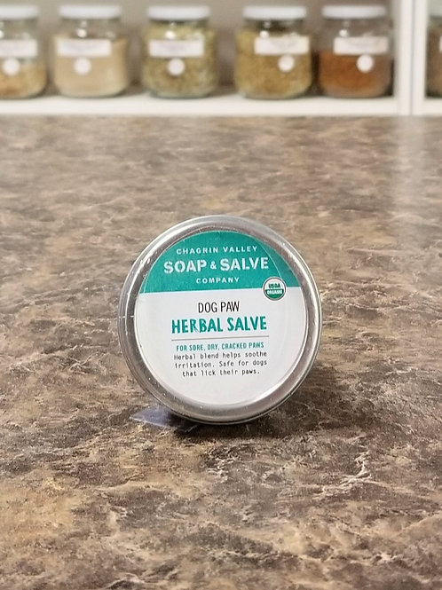 Chagrin Valley- Dog Paw Herbal Salve