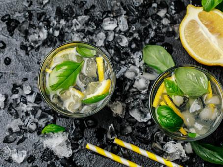 Basil lemonade: