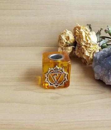 Chakra Candle Holder Yellow