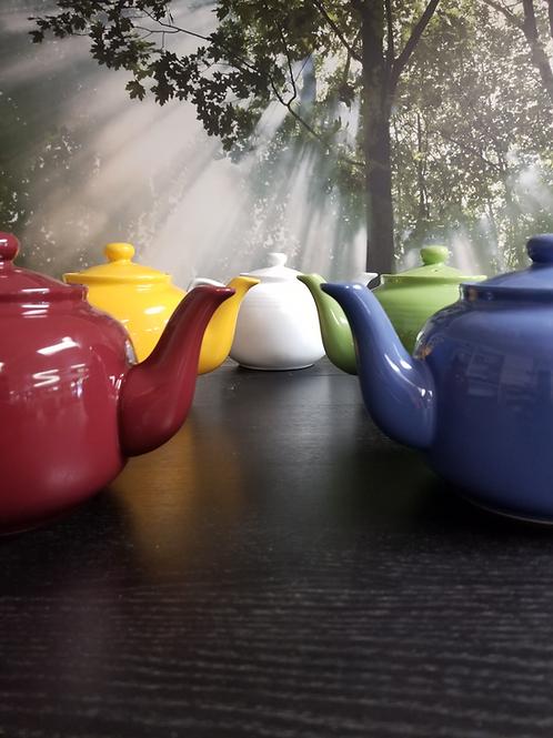 Ceramic Tea Pot Blue