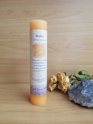 Crystal Journey Candles- Pillar Mother