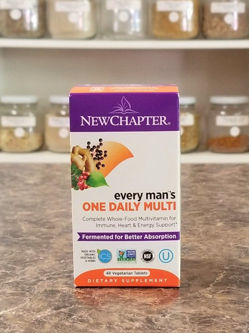 New Chapter- Every Man's One Daily Multi
