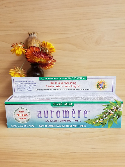 Auromere- Fresh Mint Toothpaste