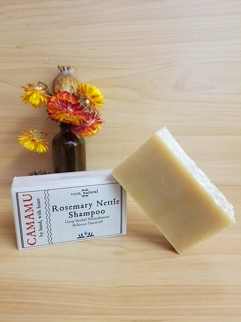 Camamu- Rosemary Nettle Shampoo
