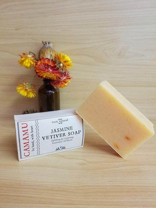 Camamu- Jasmine Vetiver Soap