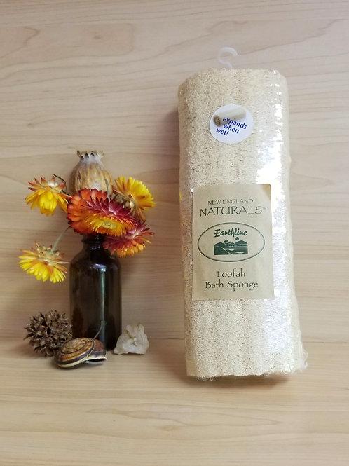 New England Naturals- Loofah Bath Sponge Lg