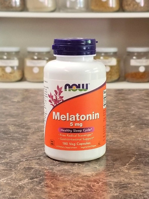 NOW- Melatonin 5mg