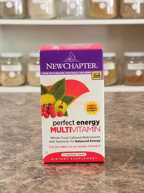 New Chapter- Perfect Energy Multivitamin
