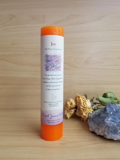 Crystal Journey Candles- Pillar Joy