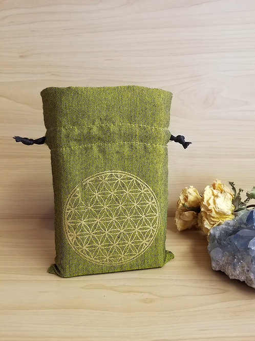 Fabric Pouch Green