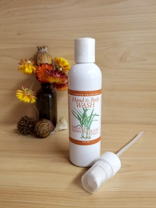 Super Salve Co.- Lemongrass Hand and Body Wash
