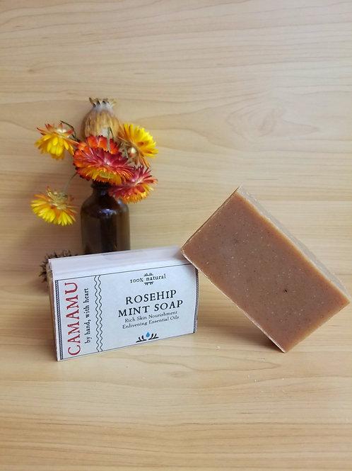 Camamu- Rosehip Mint Soap