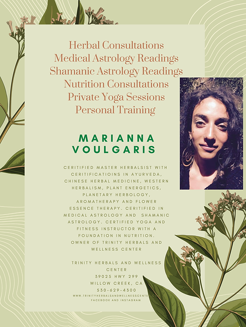 Herbal Consultation Medical Astrology Ch