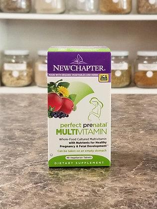 New Chapter- Perfect Prenatal Multivitamin