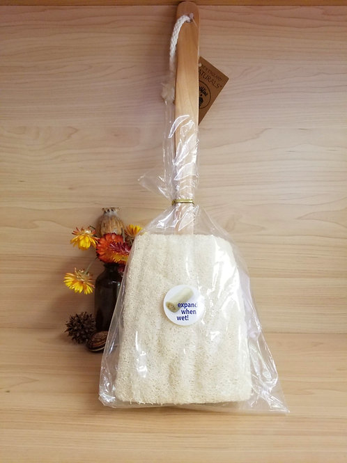 New England Naturals- Loofah with Handle