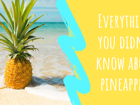 Tropical Queen of the Caribbean: 5 Impressive Health Benefits of pineapple & a handful more!