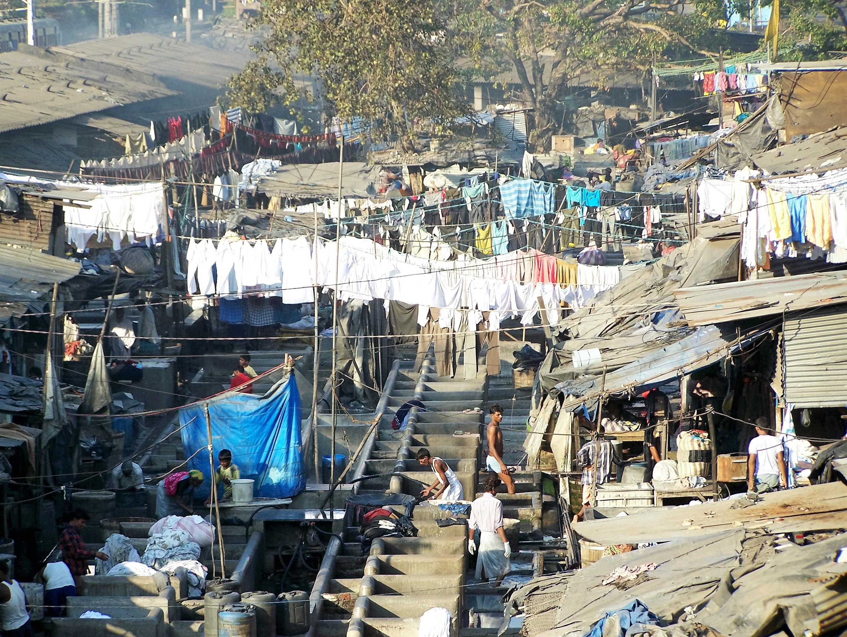 Dhobi Ghat - Mumbai, India