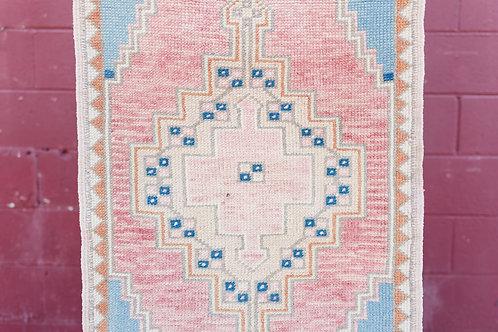 Vintage Anatolian Oushak Rug