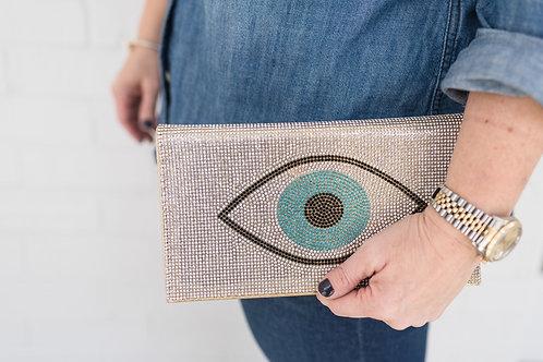 Evil Eye Clutch