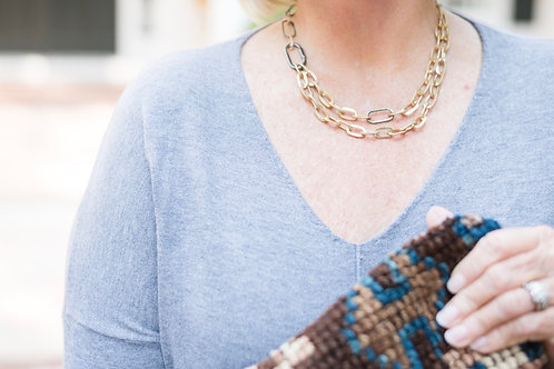 Glam Gal Link Necklace
