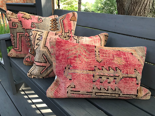 Vintage Oushak Pillows