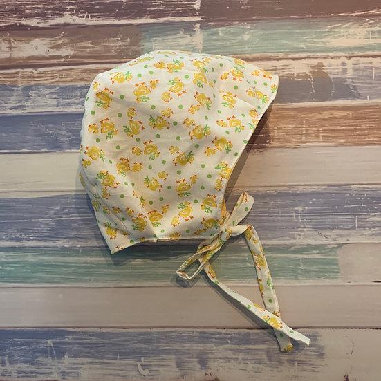 Rubber Ducky Baby Bonnet