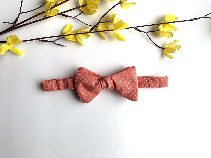 The Just Peachy Bow Tie