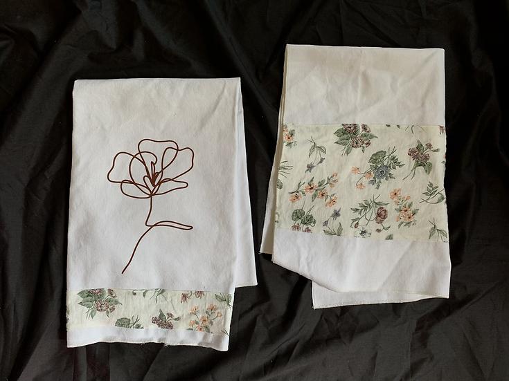 Floral Tea Towel Set