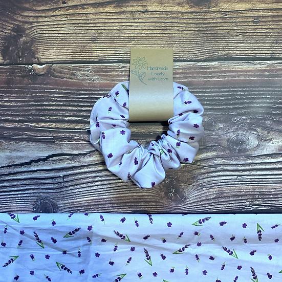 The Purple Lavander Scrunchie