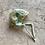 Thumbnail: Flannel Dino Baby Bonnet