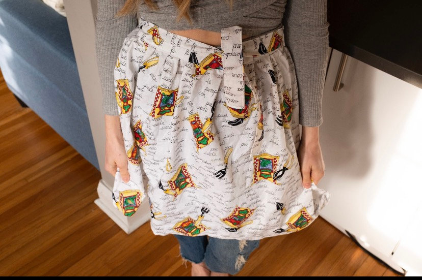 Veggie Garden Wrap-Skirt Aprons