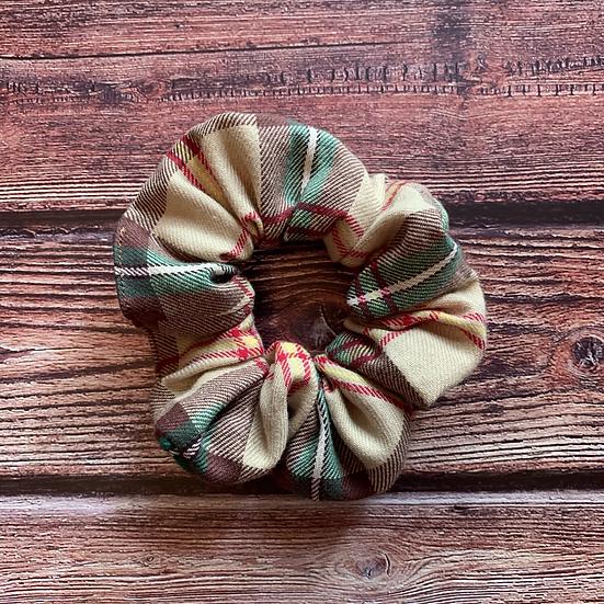 The Lumberjack Scrunchie or Hair Ribbon