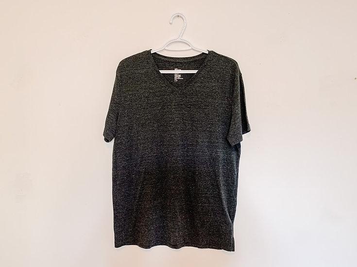 Charcoal Grey T-Shirt - Men's Large - H&M
