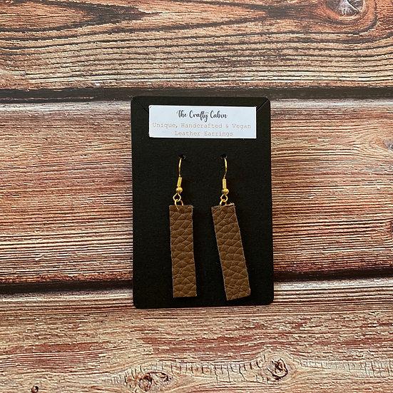 Chestnut Bar Earrings