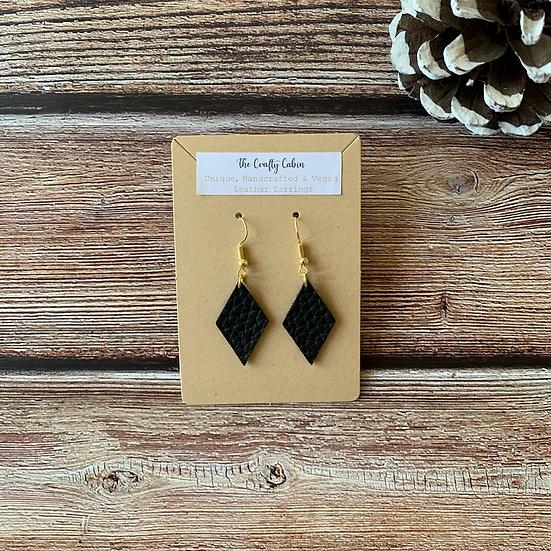 Midnight Diamond Earrings