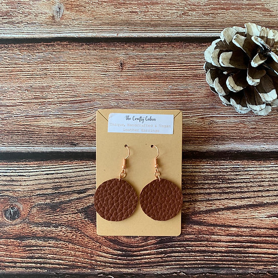 Auburn Circle Earrings