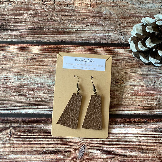 Chocolate Trapezoidal Earrings