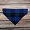 Thumbnail: The Blue Buffalo Check Dog Bandana