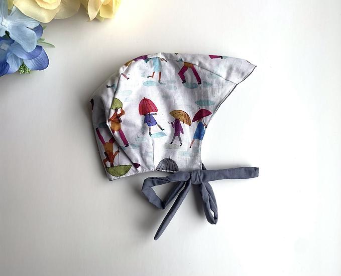 Rainy Day Baby Bonnet