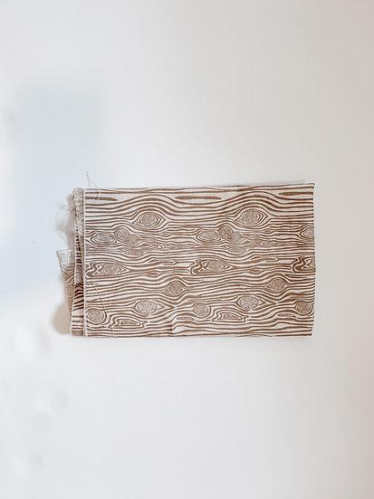 Wood Grain Dog Bandana