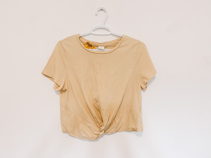 Apricot T-Shirt - Women's Large - H&M