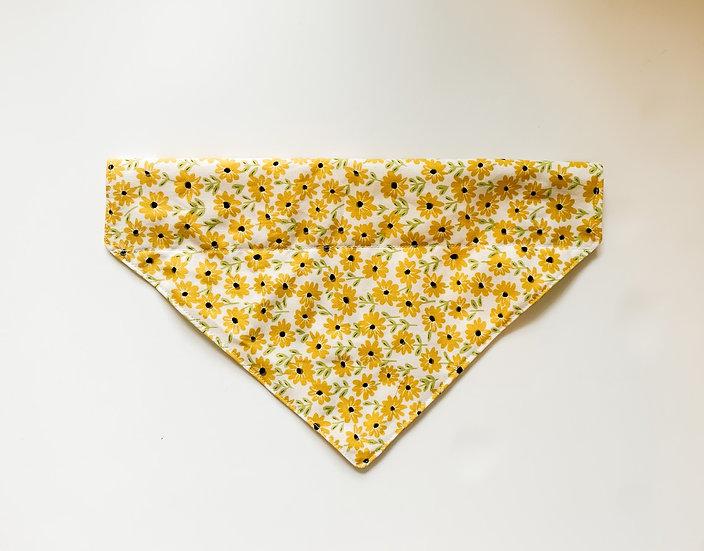 Yellow Daisies Dog Bandana