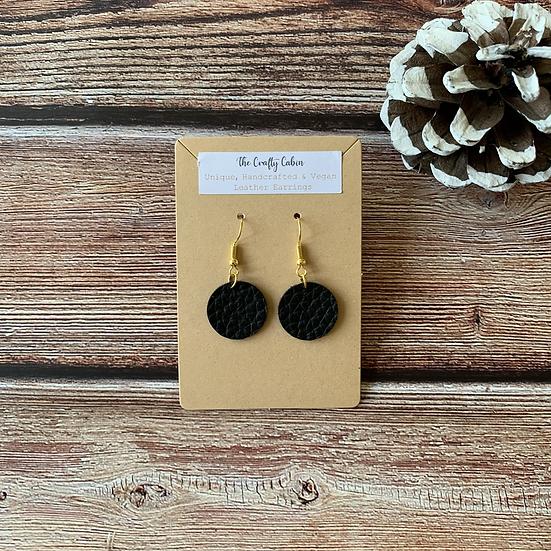 Midnight Full Moon Earrings