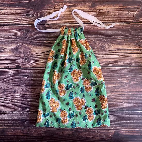 Sunflower Drawstring Gift Bag