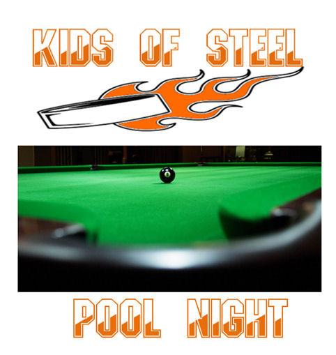 Kids of Steel Pool Night!!!