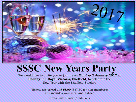 New Years Party - Monday 2nd January 2017