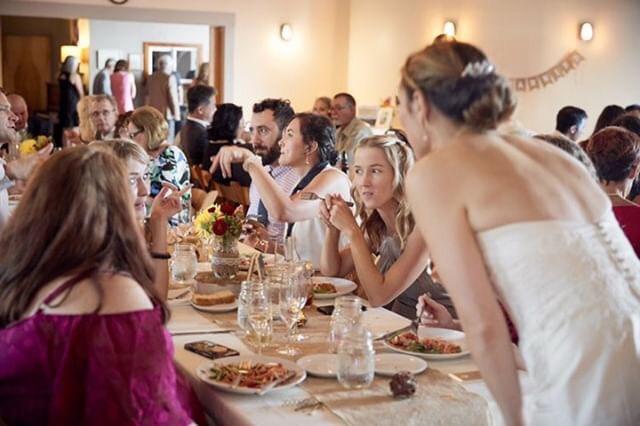 Dining After Ceremony (Danelle Beede Pho