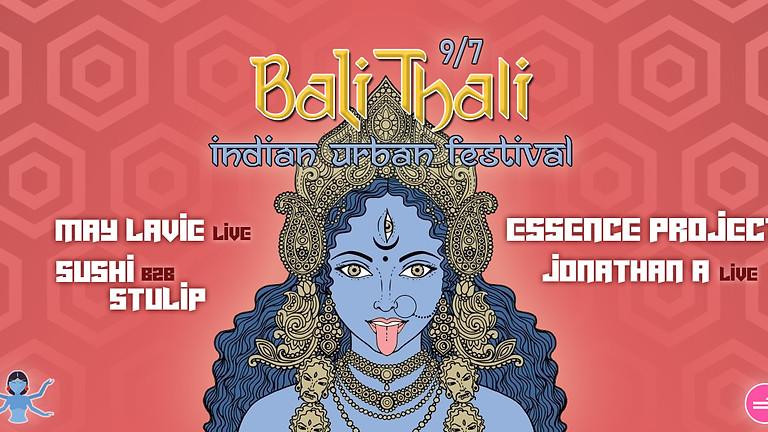באלי טאלי ॐ פסטיבל צהריים הודי אורבני ✦ Essence project & Jonathan A ✦ May Lavie ✦ Stulip & Sushi